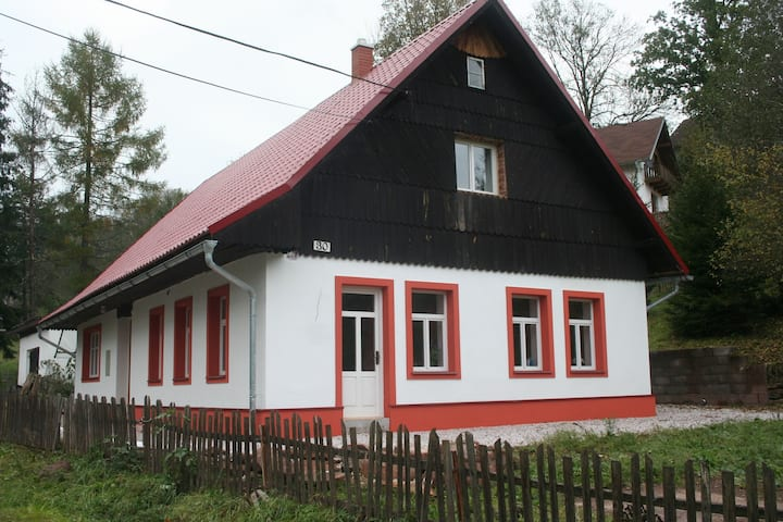 Spacious Holiday Home in Rudník with Garden