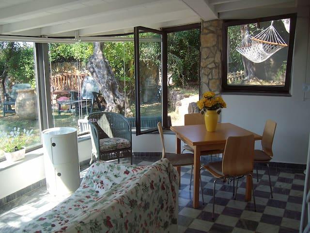 Cottage con vista Golfo Poeti - Lerici - Cabaña