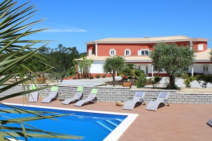 Quinta do Lusitano - Ferienvilla auf dem Land
