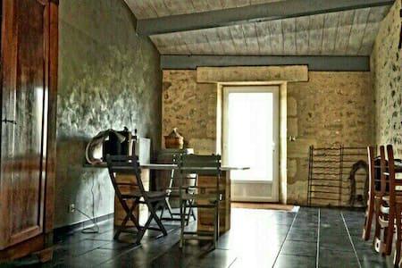 Belle maison en pierre, de 250m2 - Saint-Martin-Lacaussade - Talo