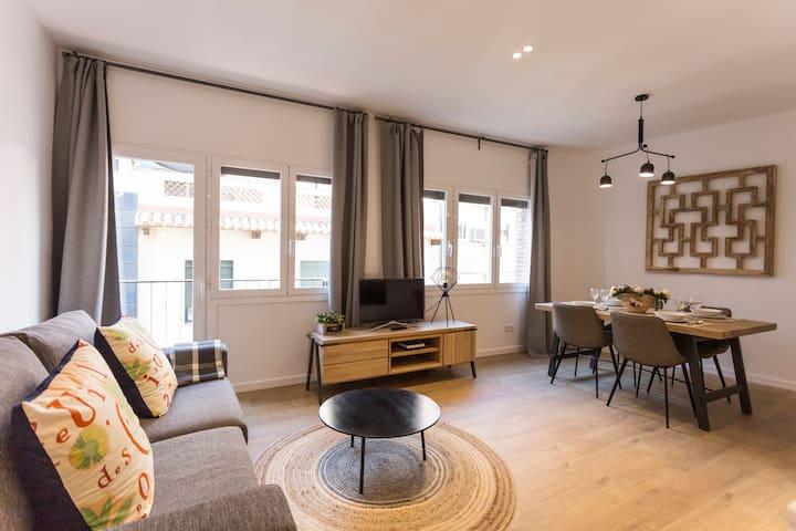 Energético apartamento en Gràcia