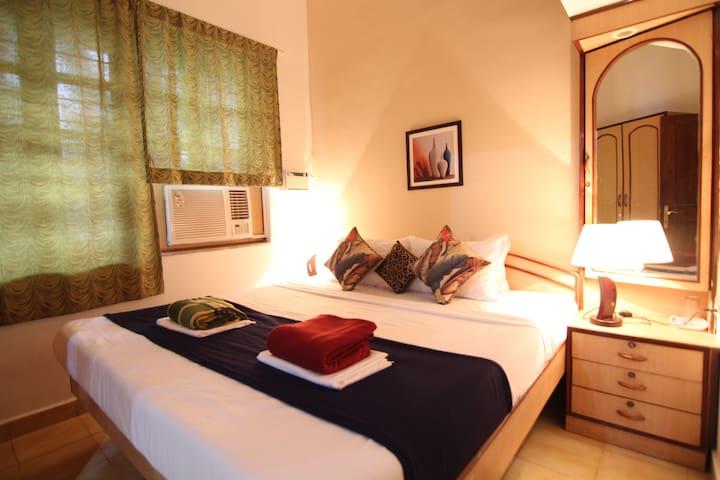Cozy 1 Bedroom Apartment In Candolim, Goa - G6