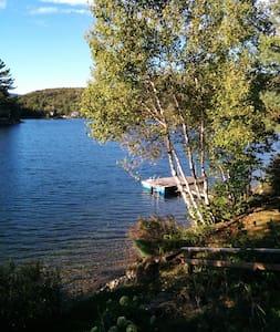 Bord d'un lac chaleureux 4 saisons - Saint-Raymond