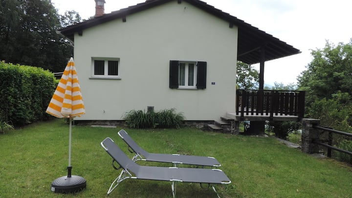 House with big garden, Resa Valley, Locarno