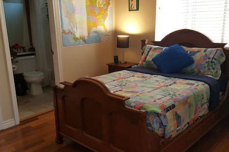 Comfortable, clean, cozy room w/ private bathroom. - 奥克斯纳德(Oxnard) - 独立屋