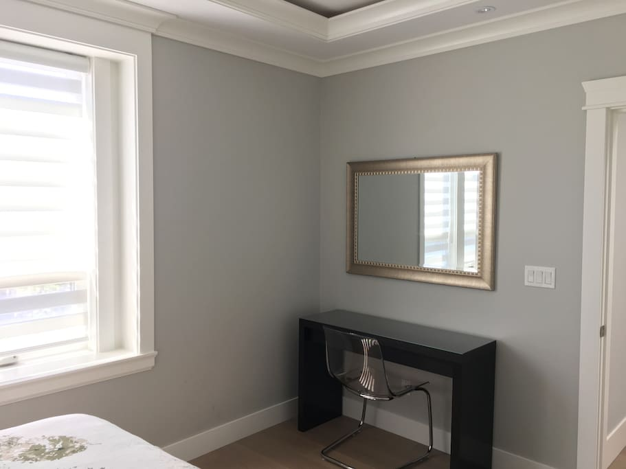Guest Room - Desk and Mirror