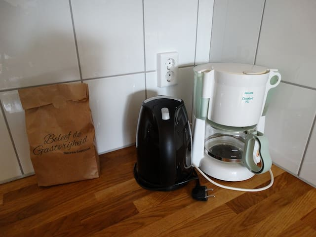 Complete keuken met apparatuur
