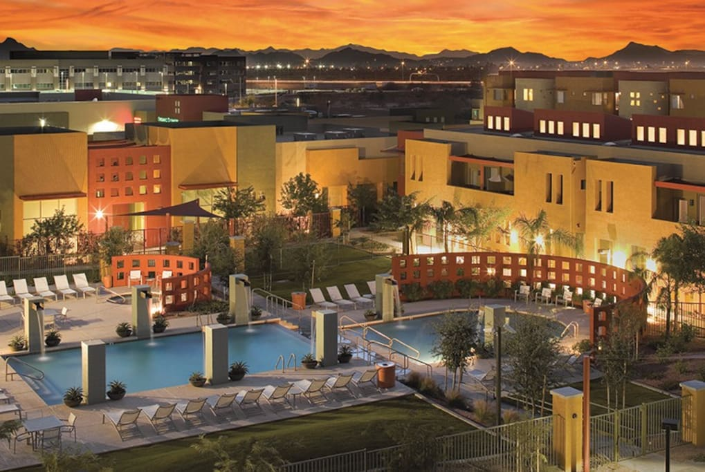 A Bird's Eye View of Our Luxury Complex