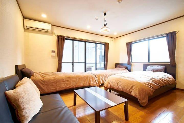 *Gion neighborhood 5min on foot*RuidaHouse room2