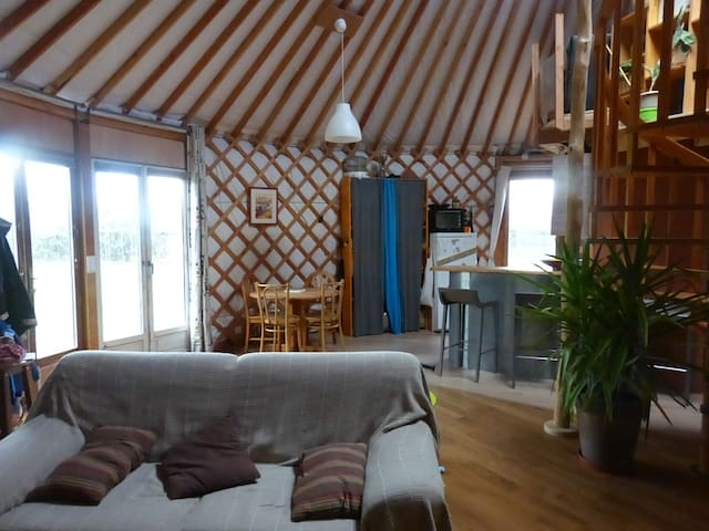 Yourte Contemporaine familiale - Daumeray - Yurt