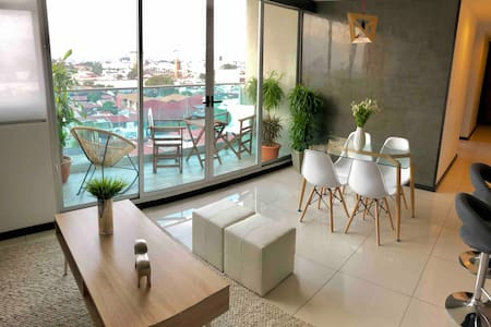 Modern/comfort safe Penthouse perfect view Sabana