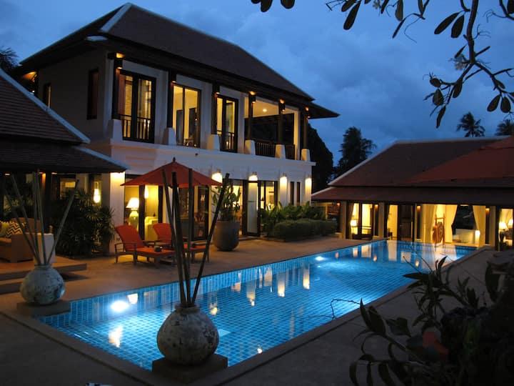 Villa Pura Samui- 15 Meter Pool&Gym-Special Offer