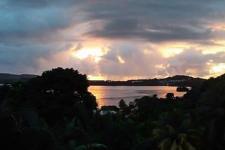 Havre de paix au coeur de la baie de Cosmy - La Trinité