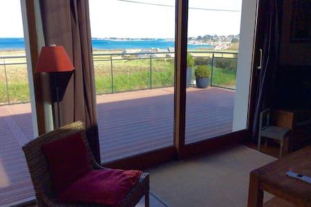 Maison au calme vue sur mer - Carantec