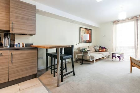 Modern en-suite double bedroom - London - Wohnung