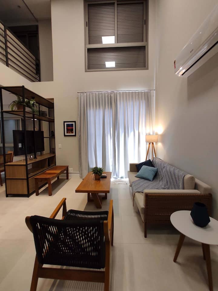 Loft Duplex dos Sonhos em Jurerê