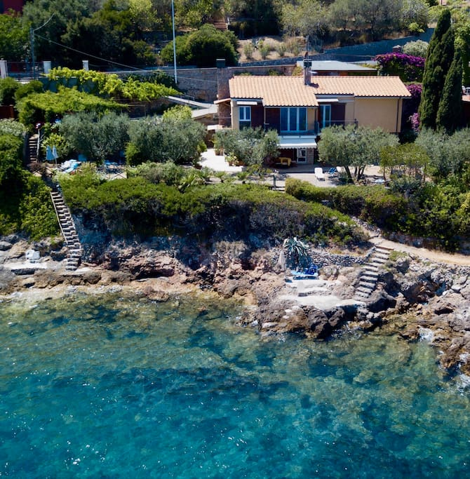 Villa Giulia vista dall'alto