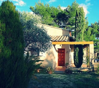 Maison au calme avec vue imprenable - Crillon-le-Brave - Huis