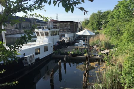 Charming Houseboat for Two - Copenaghen - Barca