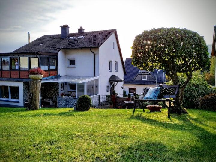 Ferienwohnung mit Wintergarten
