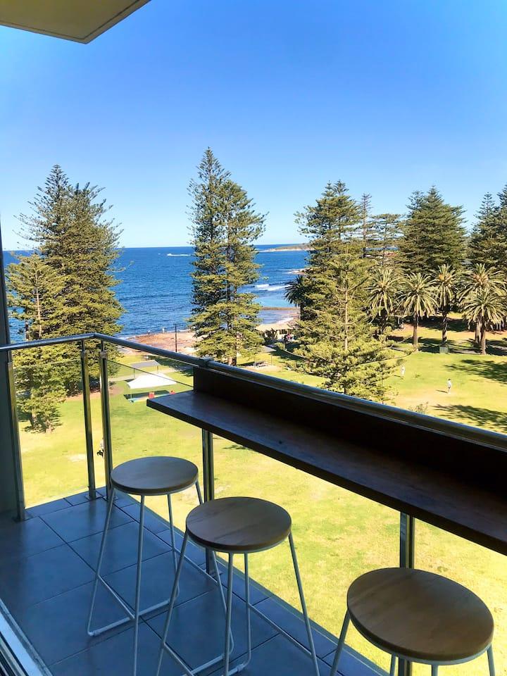 Uninterrupted ocean views at Shelly Gardens Escape