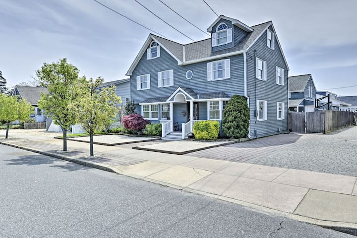 Lavallette House w/ Fenced Yard & Gas Grill!