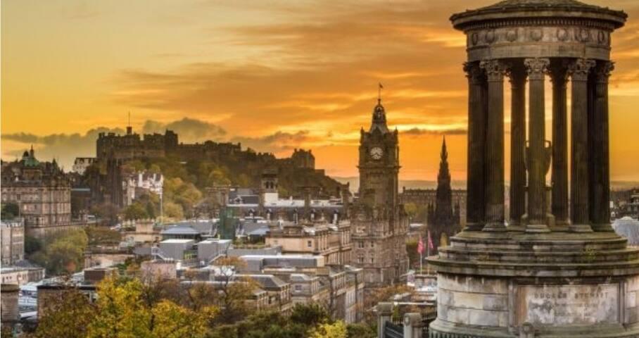 Amazing Double Room Edinburgh
