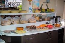 Café da manhã regional do nordeste do Brasil