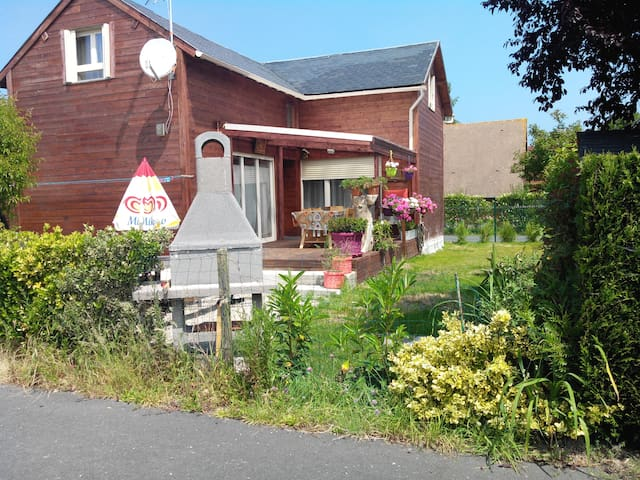 chalet  resid privée piscine tennis - Cabourg - Chalet