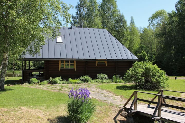 Cozy sauna with grill near Tallinn