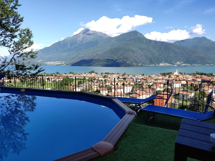 """Psiche Apartment"" Lake Como Panoramic View"