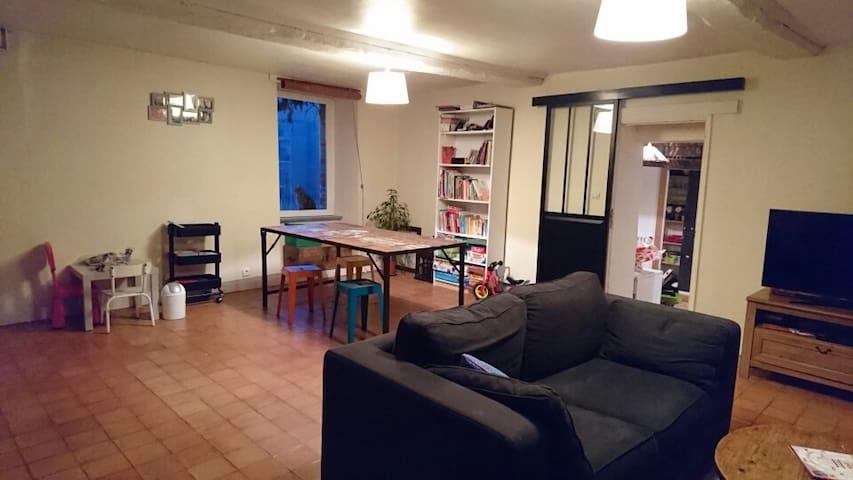 Canapé lit en Suisse Normande :) - Saint-Remy - Dom
