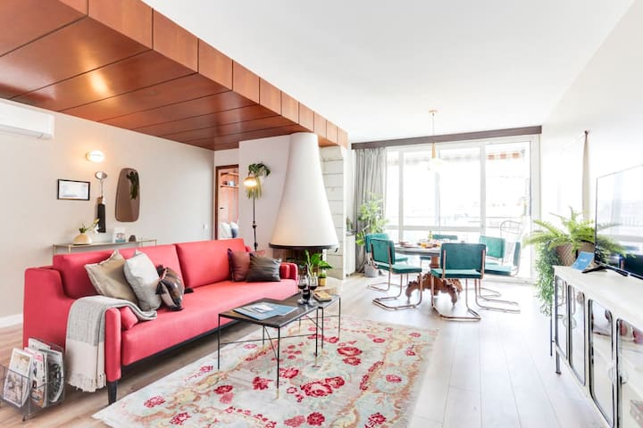 Amazing 3BR in Eixample with Balcony