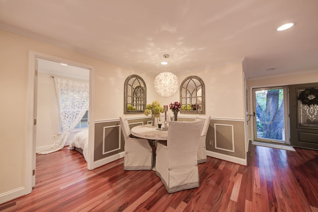 Formal dining area or great game night spot!