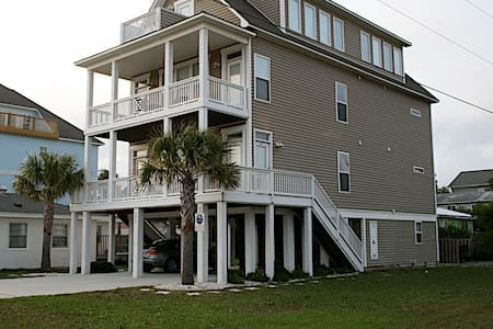 Spacious studio 1 block from ocean - Carolina Beach - Ev