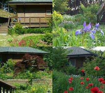 구례여행  지리산 명소 인근한 좋은 전망 예쁜 나무집,힐링하우스 - Gurye-gun - Dům