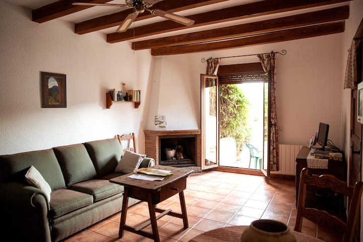 Apartamento rural de 48m2 con patio