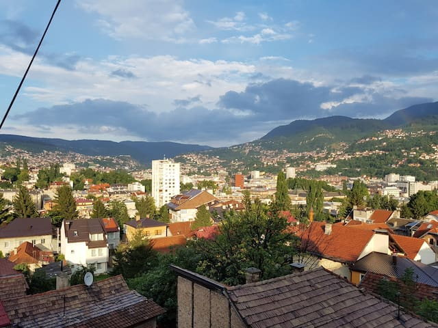 Apartment with the most beautiful view of Sarajevo