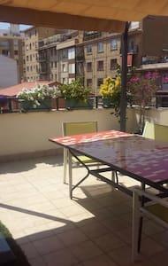 Atico con terraza en el centro - Tudela