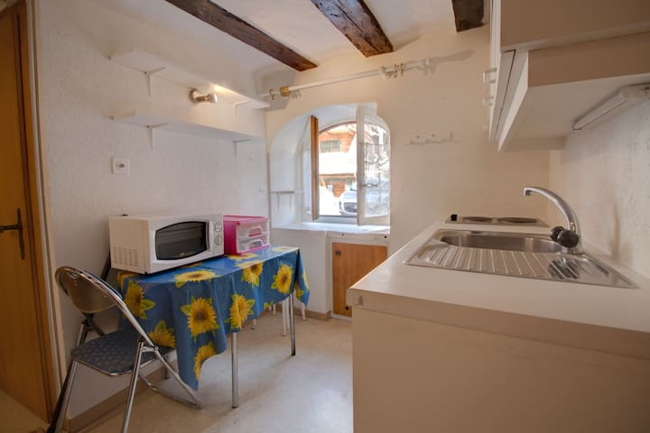 Small and simple studio close to lifts to Verbier
