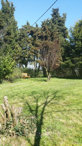 Brittany Cottage 15 min from coast - Vieux-Viel - Casa