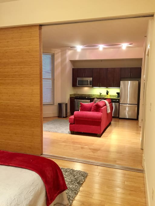 Bedroom View!! Open FloorPlan!!
