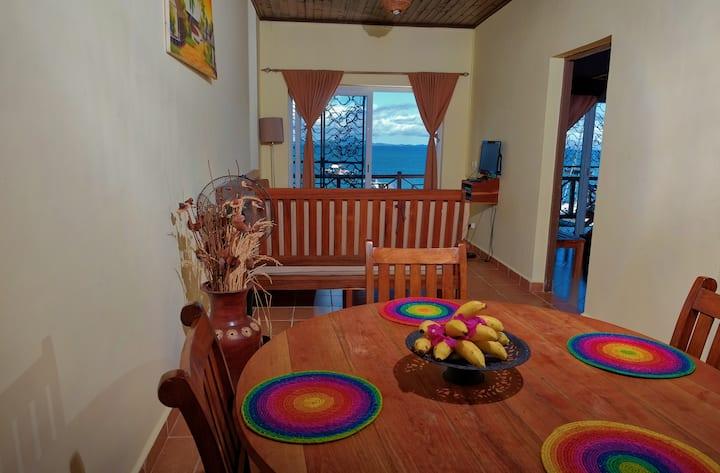 Appartement 2 chambres face a la mer