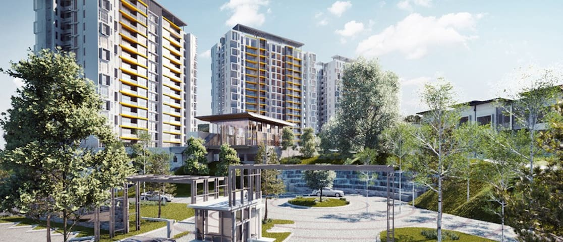 Brandnew one bedroom condo with legoland view - Nusajaya - Apartment