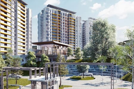 Brandnew one bedroom condo with legoland view - Nusajaya