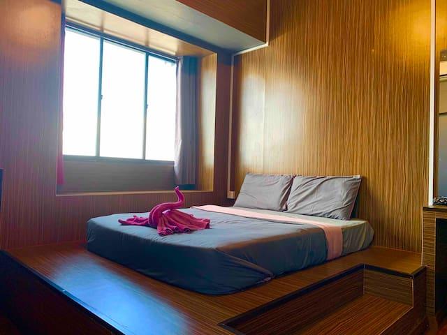 小竹林 仙本那 M01  独立卫生浴大床房 提供早餐 步行码头十分钟 Bamboo Homestay