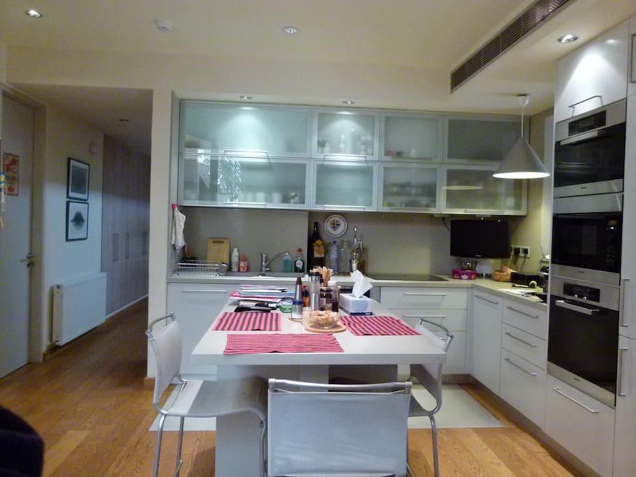 kitchen Miele equipment