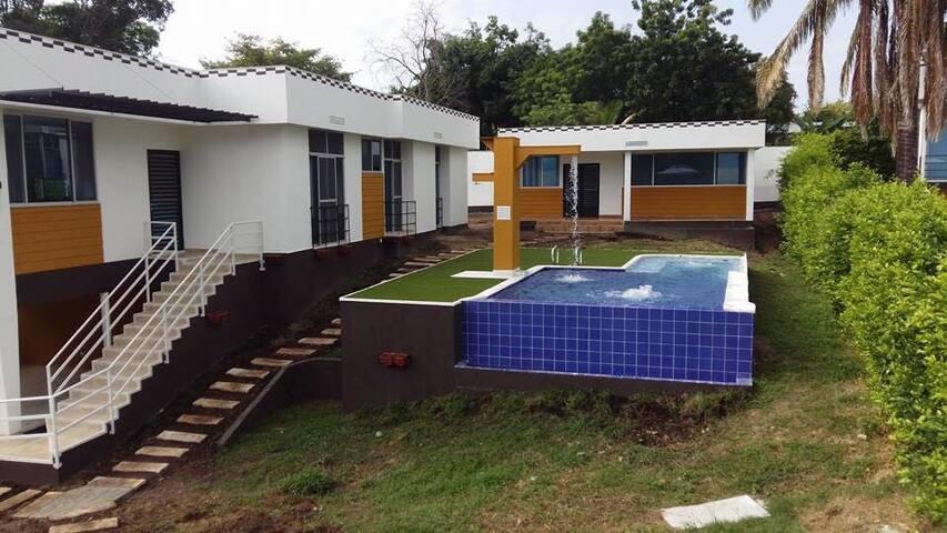 Casa Tocaima descanso Mirador de Cadajabi , casa 6