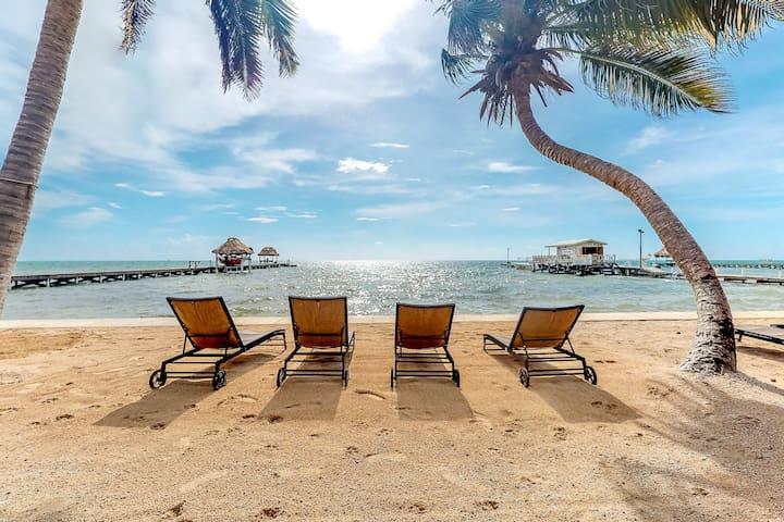 Oceanfront condo w/shared pool, patio & views - walk to beach