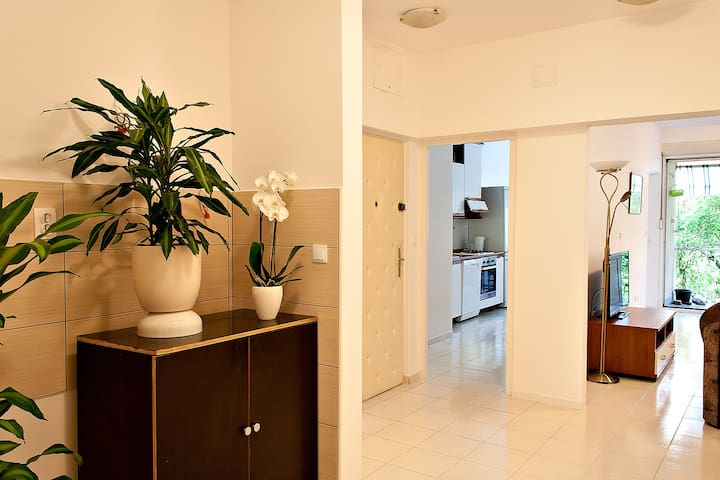 Comfy Split City Apartment with PRIVATE PARKING